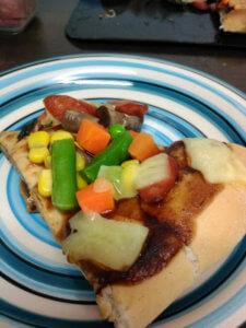 ヘルパーが作ったピザは極上レベル