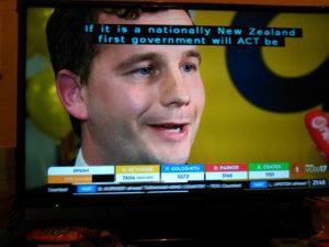 ACT Party党首 David Seymour