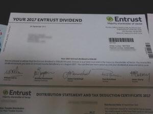 電力会社から来たレター