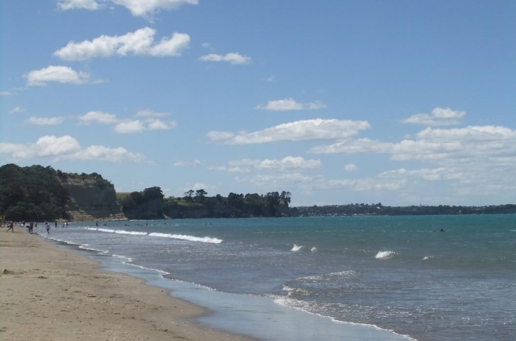Long Bay Beach海岸風景