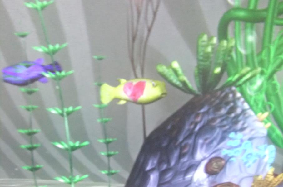 仕上がった娘の魚